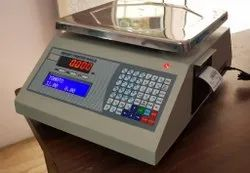 Label Barcode Printing Scale