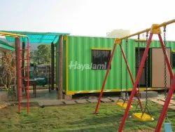 Mild Steel Portable House