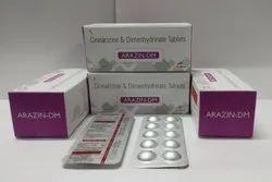 Cinnarizine 20mg+Dimenhydrinate 40mg Tablet