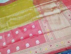 Handloom Tissue Silk Saree