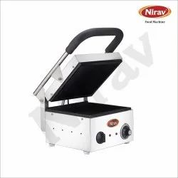 Stainless Steel Sandwich Griller, Model: SINGLE, Capacity: 4 Sendwich At A Time