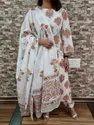 Hand Block Printed Cotton Dupatta Floral Printed Kurti Exporters