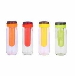 Tuelip 750 Ml Plastic Fruit Infuser Bottle (Red)