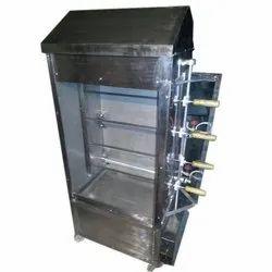 Chicken Changezi Machine Stainless Steel (Each Rod 4 Birds )
