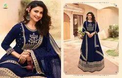 Embroidered Georgette Kali Prachi Desai Salwar Suit