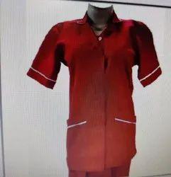 Female Nursing Uniform Half Sleeves PS-6