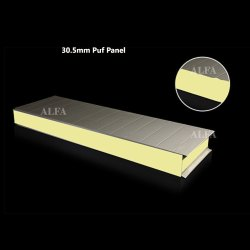 30.5mm PUF Cold Room Panel