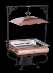 Classic Copper Char Minar Chafer Hammered