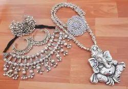 Oxidized Set Imitation Jewellery Wholesaler
