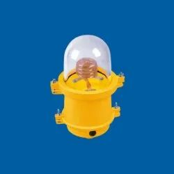 Neon Spiral Single Aviation Light