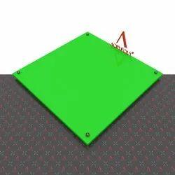 Green Acrylic Sheet