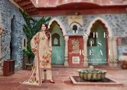 Nikhaar Pashmina Digital Printed Dress Material Collection