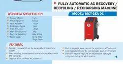 Gas Recovery Machine