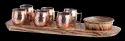 PW Platter With Mini Mule Mugs