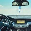Rose Camphor Cone Car Air Freshener