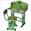 Team Kids Study Table & Chair Set For Kids (3-10 Years)