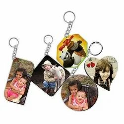 Sublimation Mdf Wooden Keychain