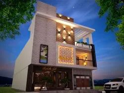 Exterior Design Services, Work Provided: Wall Paper/Paint Work
