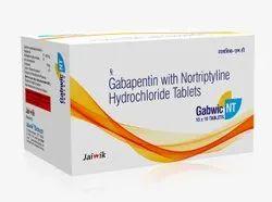 Nortriptyline 10 mg with Gabapentin 400 mg Tab