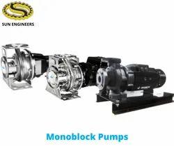 Shakti Monoblock & End Suction Pumps - SNB-SNK Series