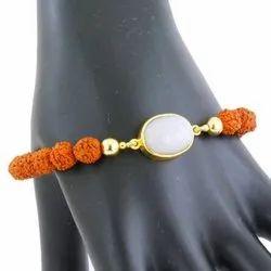 Opal Stone with rudhraksha bracelete
