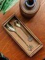Brass Design Tree Shape Cutlery