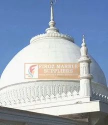 Traditional Polished Mosque Marble Dome