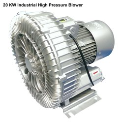 2.53 Psi Aluminum 20 kW Industrial High Pressure Blower