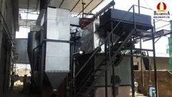 Wood & Coal Fired 10 TPH Water Wall Membrane Panel Steam Boiler, IBR Approved