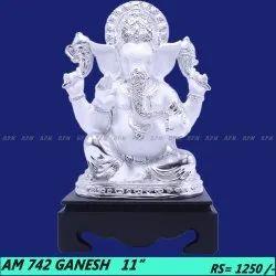 Shri Ganesh Metal showpiece