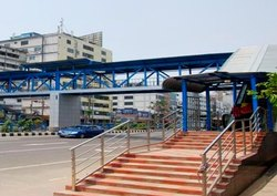 Pedestrian Overhead Bridge Metal