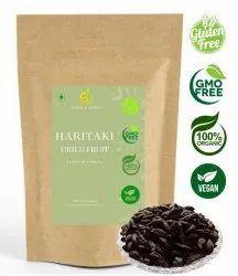A D Food & Herbs Organic Dried Choti Haritaki / Kadukkai / Harade Whole / Terminalia Chebula
