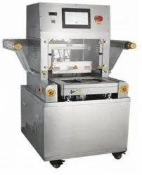 Semi Automatic Tray Sealing Machine With Map