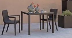 The Craftnetics Polished Bar Furniture Outdoor Dining Table Set, For Home
