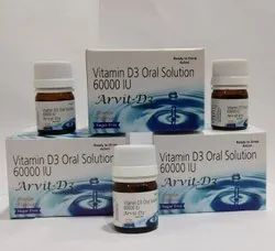 Cholecalciferol (Vitamin D3) 60000IU Oral Solution (Nano Shots)