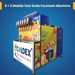 6 Plus 2 Soda Vending Machine