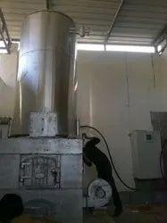 Wood & Coal Fired 200 Mcal/hr Hot Water Boiler