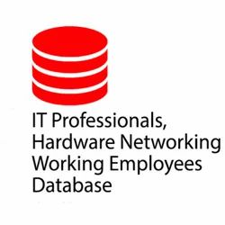 It Company , Hardware, Professionals,  Netwokring, Working Employees Database