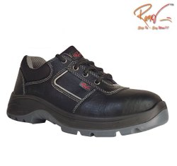 Ramer New Launch Pacer Low Double Density Black Shoes