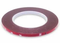 Red Polyester Double Sided Tape