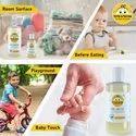 Tiffy & Toffee Hygiene Sanitizer Gel (Alcohol Free) - Lemon 100 Ml Hand Sanitizer Bottle (100 Ml)