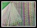 Multicolor Jamdani Bangladeshi Dhakai Saree, With Blouse Piece