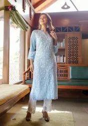 Ladies Lucknowi Designer Salwar Suit
