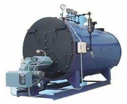 Gas Fired 2000 kg/hr Steam Boiler