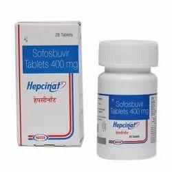 Hepcinat 400 Mg Tablet Sofosbuvir