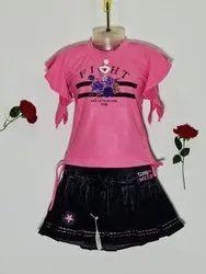 Girls Skirt Top