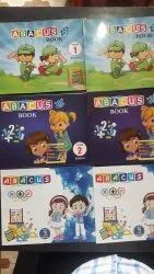 1 To 8 Level Abacus Books, Paper Size: A5, 1-6 Standard