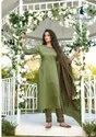 Embroidery Chinon Ready-Made Full Stitch Salwar Kameez Ladies Dresses