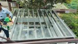 Transparent Toughened Glass For Skylight, For Home, Thickness: 12 mm