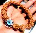 Evil Eye Rudraksha Bracelet